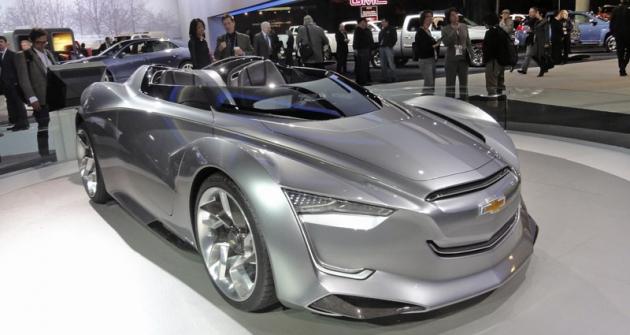 Chevrolet Miray při americké premiéře naautosalonu NAIAS 2012 vDetroitu
