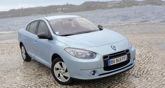 Renault Fluence Z.E., jeden ze čtveřice sériově vyráběných elektromobilů francouzské značky (produkce vturecké Burse)