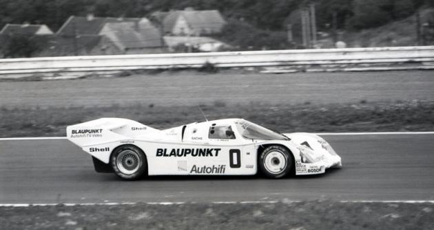 Danny Ongais (Porsche 962 IMSA) dojel druhý vMostě