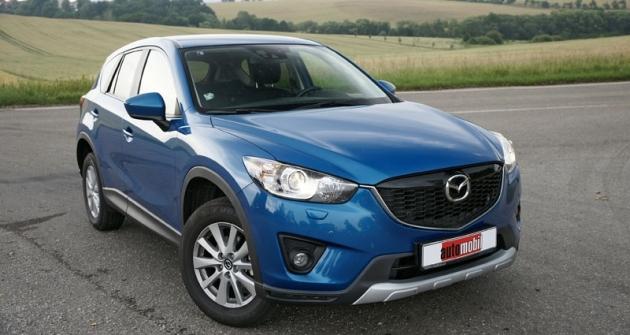 Naněkterých trzích už Mazda CX-5 nahrazuje starší typ CX-7...