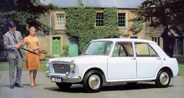 Austin 1100 vprvním provedení (debut 1963)