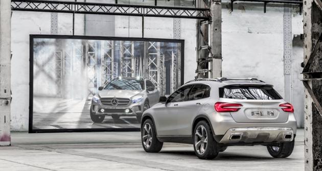 Mercedes-Benz GLA Concept se představil naautosalonu vŠanghaji, sériová verze bude naIAA 2013 veFrankfurtu
