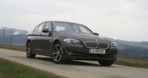 BMW ActiveHybrid 5, prostřední ztrojice bavorských hybridů