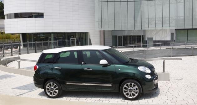 Fiat 500L Living, už pátá variace natéma 500...