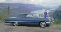 Chevrolet Impala 283 V8 (1963; verze SS má Big Block 409 V8)