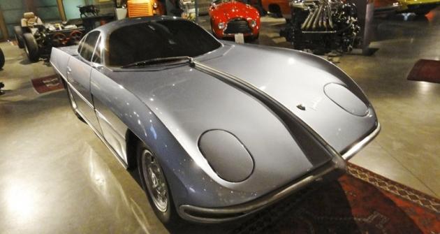 Lamborghini 350 GTV, maketa prvního vozu skaroserií Scaglione (1963)