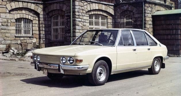 Carrozzeria Vignale navrhla vroce 1969 design československé Tatry 613