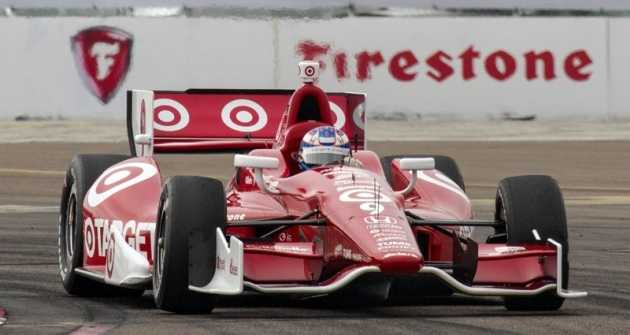 Scott Dixon (Ganassi/Dallara DW12 Honda), vítěz Indy Car Series 2013