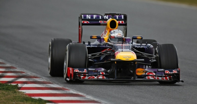 Sebastian Vettel (Red Bull RB9), čtyřnásobný mistr světa