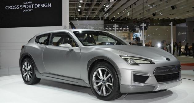 Cross Sport Design Concept, hlavní hvězda expozice Subaru naautosalonu vTokiu