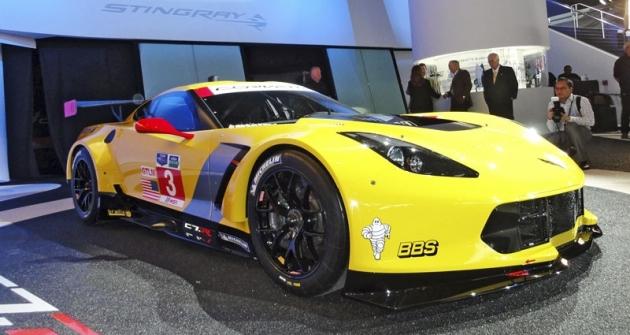 Chevrolet Corvette C7.R snepřeplňovaným motorem pro závody Gran Turismo