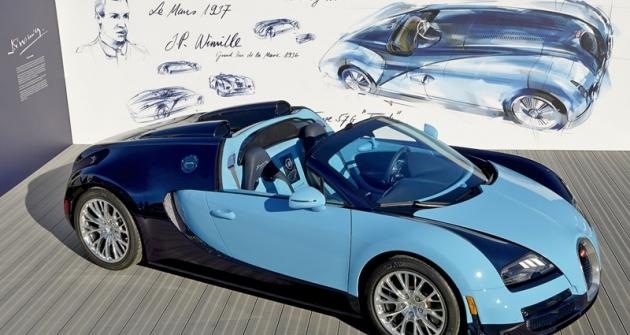 Bugatti Grand Sport Vitesse JP Wimille napočest francouzského mistra volantu