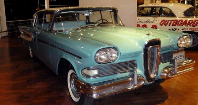 Edsel Citation,  pokus ozavedení nové Fordovy značky, osmiválec 6,7 litru (1958)