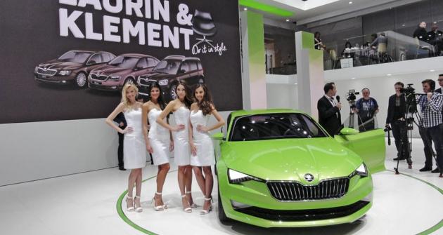 Škoda VisionC budila velkou pozornost, je předobrazem designového stylu budoucích vozů mladoboleslavské značky