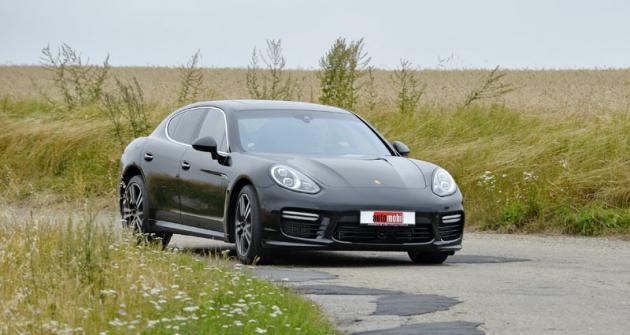 Porsche Panamera Turbo, druhý nejsilnější typ vylepšené nabídky