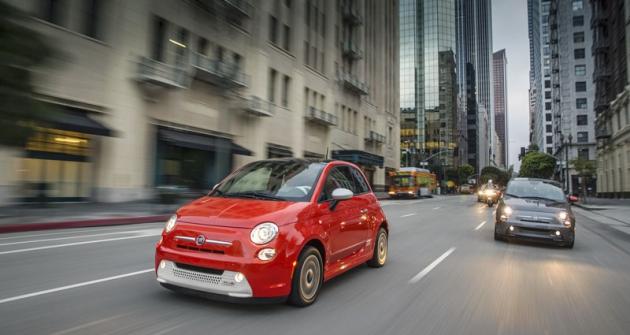 Fiat 500e je určen zatím pouze pro Kalifornii