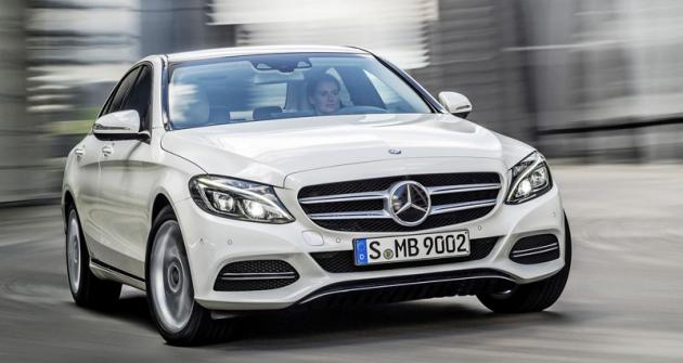 Mercedes-Benz nové třídyC slavil světovou premiéru naDetroitském autosalonu 2014