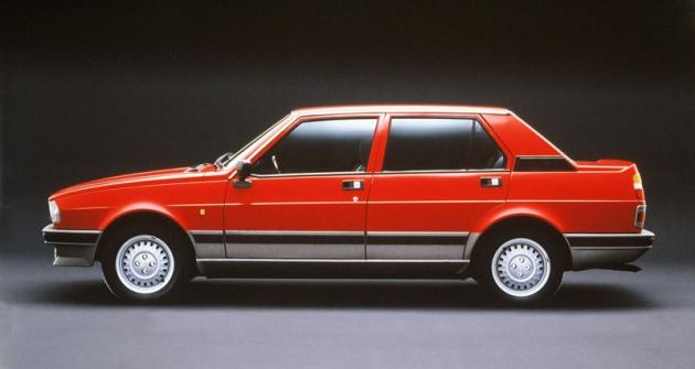 Alfa Romeo Giulietta 1.8, uvedená vroce 1979