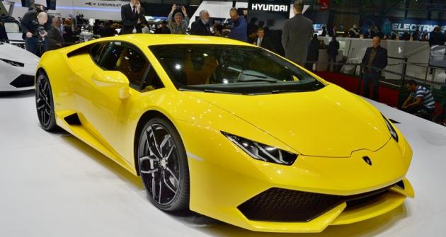 Lamborghini  LP 610-4 Huracán, nový základní typ  ze Sant'Agata Bolognese