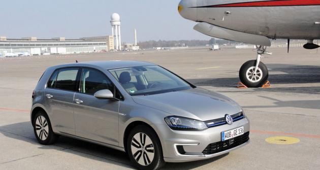 Volkswagen e-Golf se dočkal výroby až vsedmé generaci Golfu
