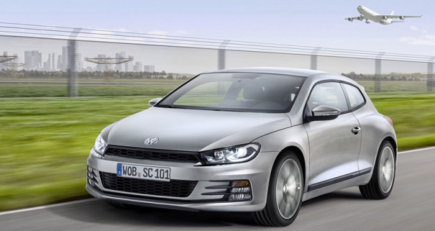 Volkswagen Scirocco prošel faceliftem pro nový modelový rok