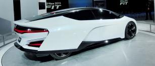Honda FCEV Concept naautosalonu vDetroitu 2014