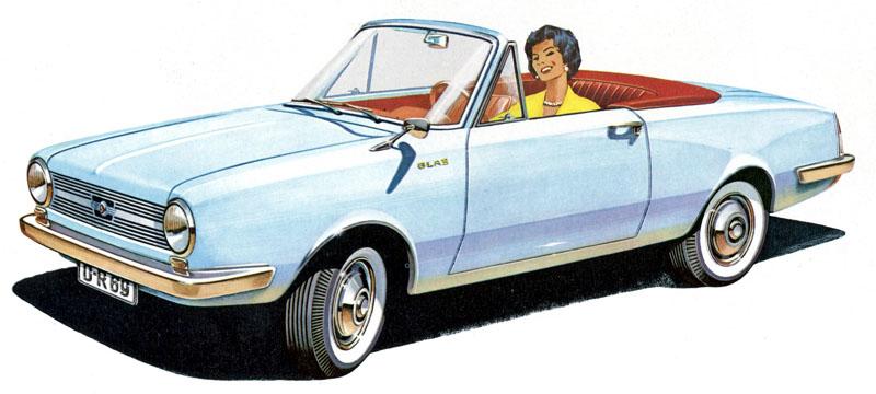 glas automobile 1955 1969 doba romantik automobil. Black Bedroom Furniture Sets. Home Design Ideas