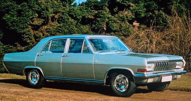 Opel Diplomat V8 první generace