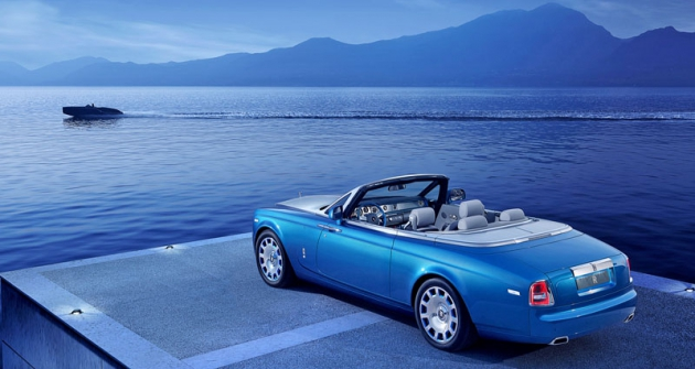 Rolls-Royce Phantom Drophead Coupé v provedení Waterspeed Collection