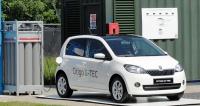 Škoda Citigo G-TEC vzávodě Bio Science Center vLylestadu