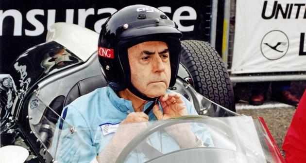 Jack Brabham, mistr světa formule1 zlet 1959, 1960 a1966 (Goodwood 2000)
