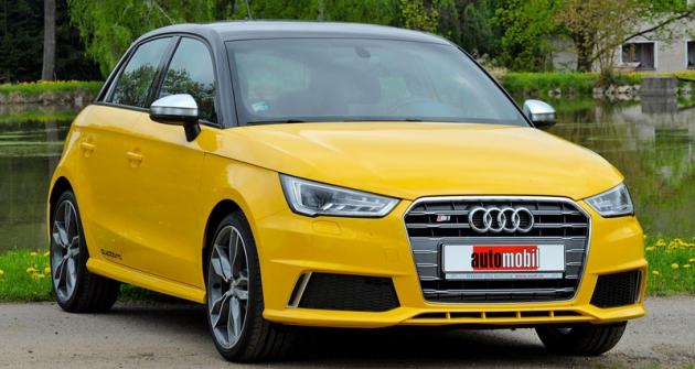 Audi S1 Sportback nabízí zajímavé jízdní výkony vpraktické pětidveřové karoserii