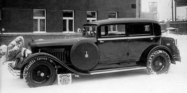 Luxusní Minerva se šestiválcem 5,9l (1933)