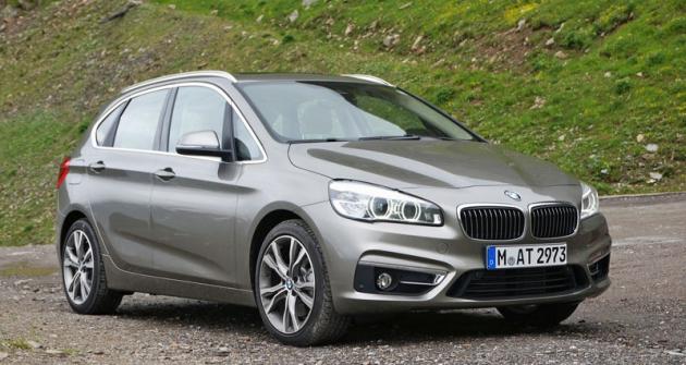 BMW 2 Active Tourer, první MPV aprvní pohon předních kol vnabídce bavorské značky