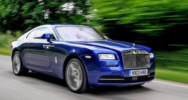 Rolls-Royce Wraith, vlastně Ghost jako fastback coupé