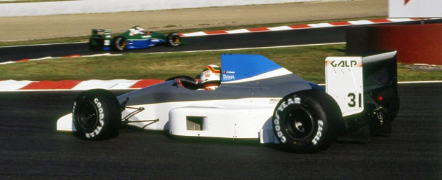 Pedro Chaves svozem Coloni C4,  ovšem už sjiným motorem (Velká cena Francie 1991), ale italský tým nikdy nezískal žádné body