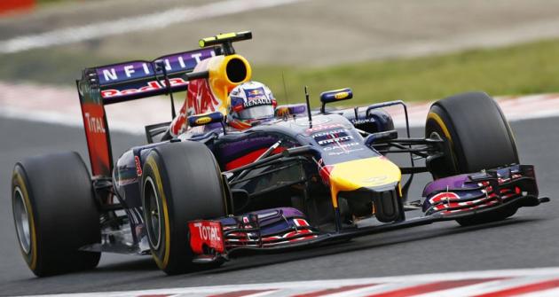 Daniel Ricciardo  (Red Bull RB10 Renault) dobyl naHungaroringu svoje druhé vítězství
