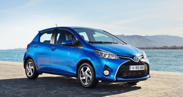 Toyota Yaris prošla pro  modelový rok 2015 výraznou modernizací včetně hybridní verze