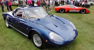 Sportovní kupé ATS 2500 GT (nasnímku verze 3,0l)  patřilo knejvyspělejším automobilům počátku šedesátých let