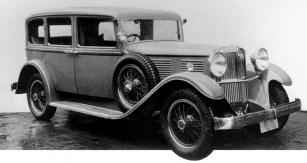 Šestimístná limuzína Walter Regent vprovedení zroku 1932