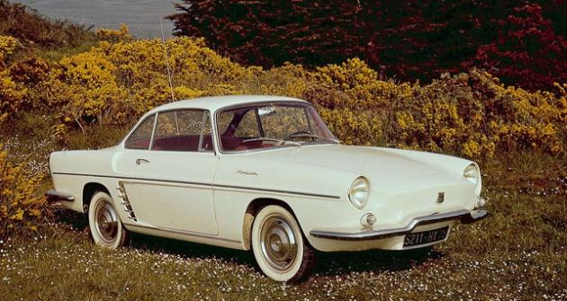 Renault Floride byl postaven napodvozkových skupinách Dauphine (1959)