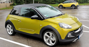 Opel Adam Rocks má zvýšenou světlou výšku anové designové prvky