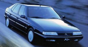 Citroën Xm vposledním provedení zkonce roku 1998