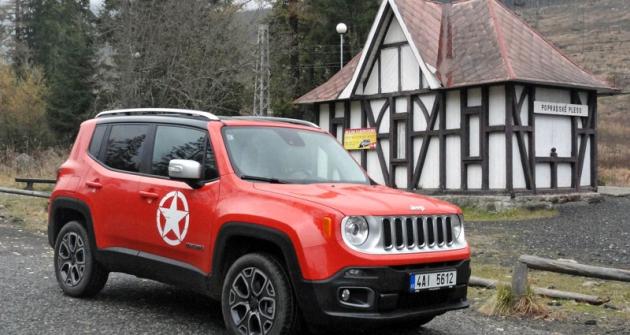Představení Jeepu Renegade pro české aslovenské novináře proběhlo veVysokých Tatrách