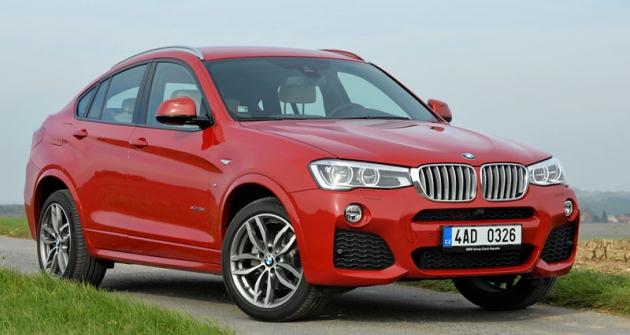 BMW X4 první generace je dalším rozšířením řadyX, která oslavila patnáct let výroby (také X4 je zamerického Spartanburgu)