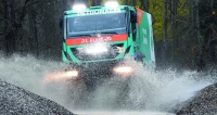 """Trambusový soutěžní speciál Iveco Trakker 4x4 je výsledkem dlouhého vývoje. """"Vychytaný"""" soutěžní truck bude pilotovat na Dakaru 2015 Španěl Pep Vila."""