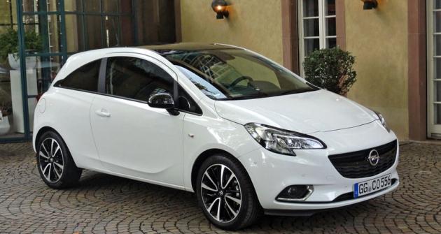 Opel Corsa páté generace vesportovněji laděné třídveřové verzi