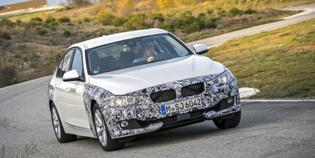 BMW3 eDrive PHEV  se připravuje  dosériové výroby,  prototypy vMiramas byly téměř vkonečné podobě (svýjimkou kamufláže)