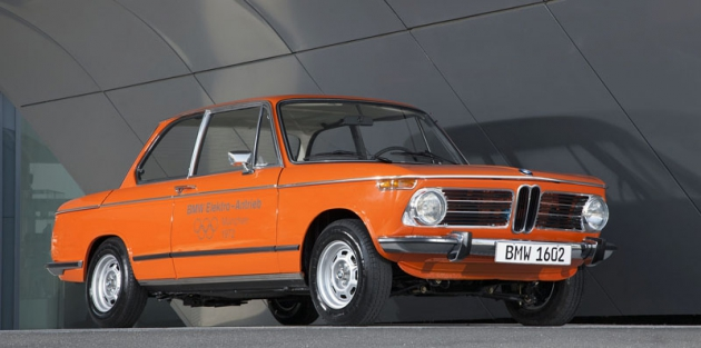 BMW 1602 Electric, první vlaštovka, který posloužil jako doprovodný vůz olympijských maratonů vroce 1972