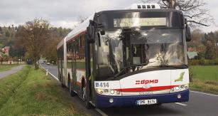 Kloubový městský autobus Solaris Urbino 18
